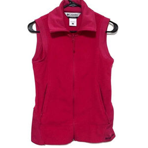Columbia Women's Full Zip Fleece Vest (XS)